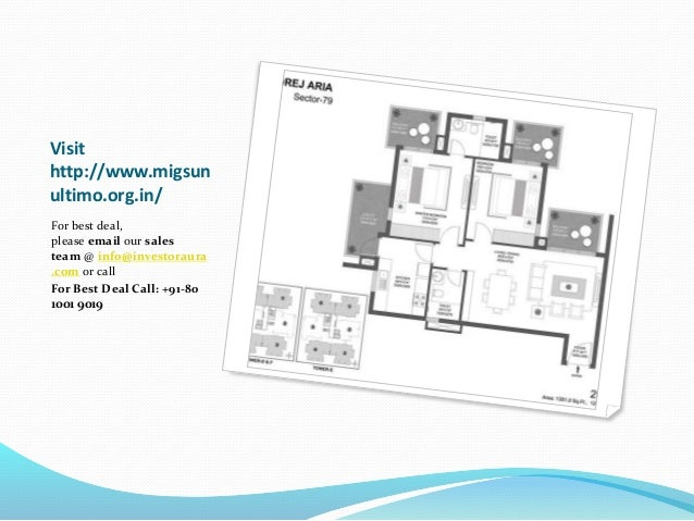 Migsun Ultimo Greater Noida Project by Mahaluxmi Group Slide 3