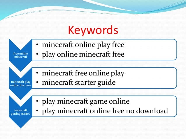 minecraft for free no download play now