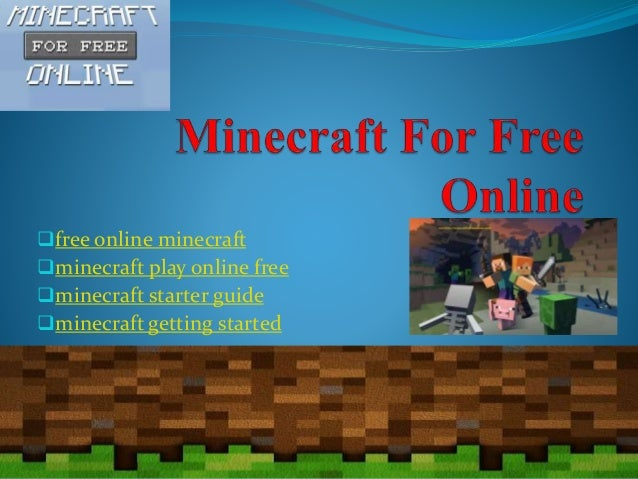 play minecraft free online version