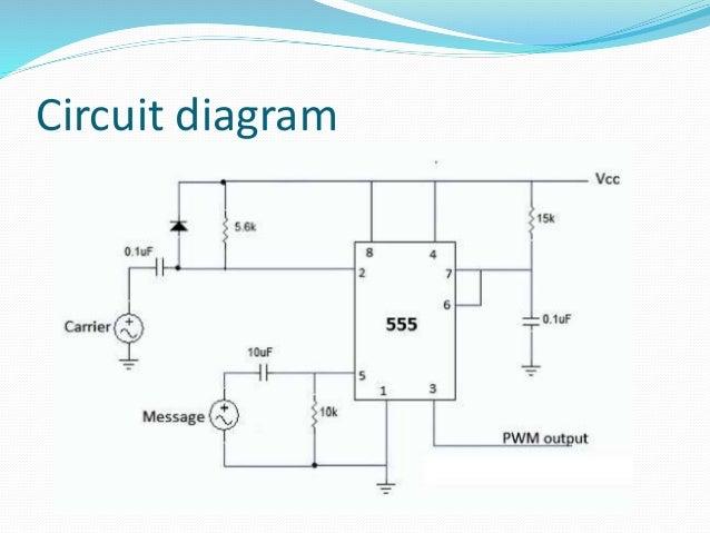 pulse width modulation demodulation rh slideshare net 12v 30a pwm circuit diagram pwm circuit diagram 555
