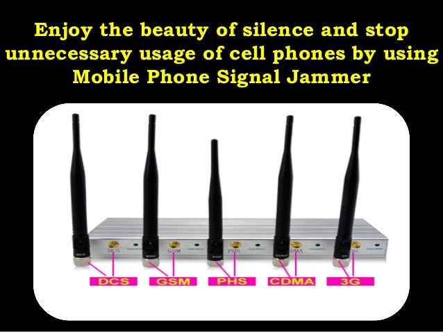 Cell phone jammer advantages - purchase cell phone jammer