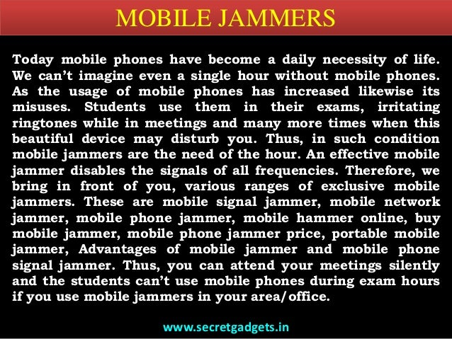 Buy mobile jammer | Unknow Mac Address - [Solved]