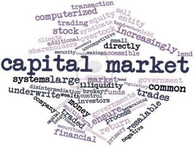 Nature of capital market  The nature of capital market is brought out by  the following facts:  It Has Two Segments  It ...