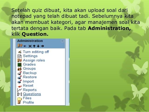 Soal masuk ke dalam Question Bank