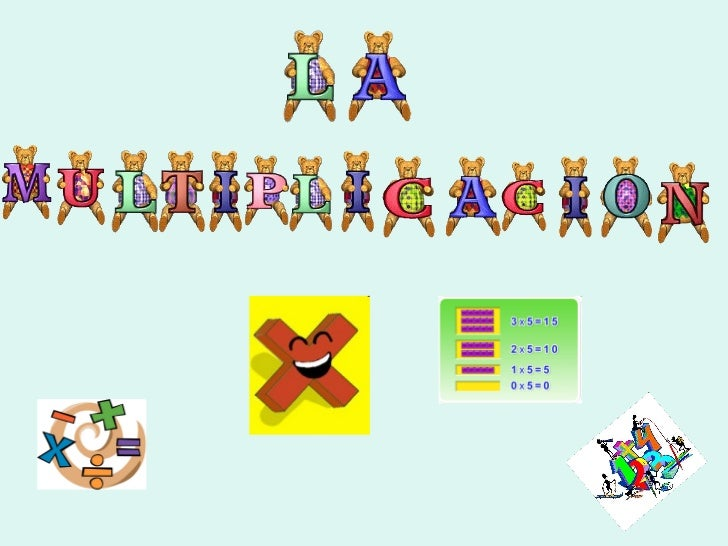 Ppt multiplicacion Slide 1