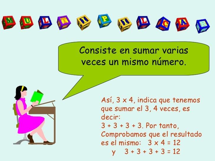 Ppt multiplicacion Slide 2