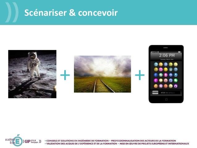 Scénariser & concevoir + +