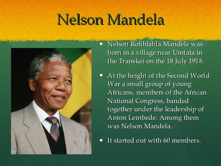 a biography of the political life and achievements of nelson mandela Nelson mandela is one of the world's most revered statesmen, who led the struggle to replace the apartheid regime of south africa with a multi-racial democracy jailed for 27 years, he emerged in.