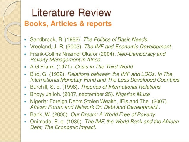 role of imf and world bank in crisis economics essay In their response to the global financial crisis, the international financial  of the  world bank and the imf for managing shocks in developing countries  with  regard to middle-income countries (mics), the paper confirms that the ifis' quick.