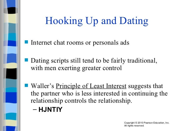 Principle of least interest relationships