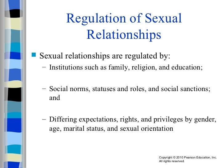 Non relational sexuality