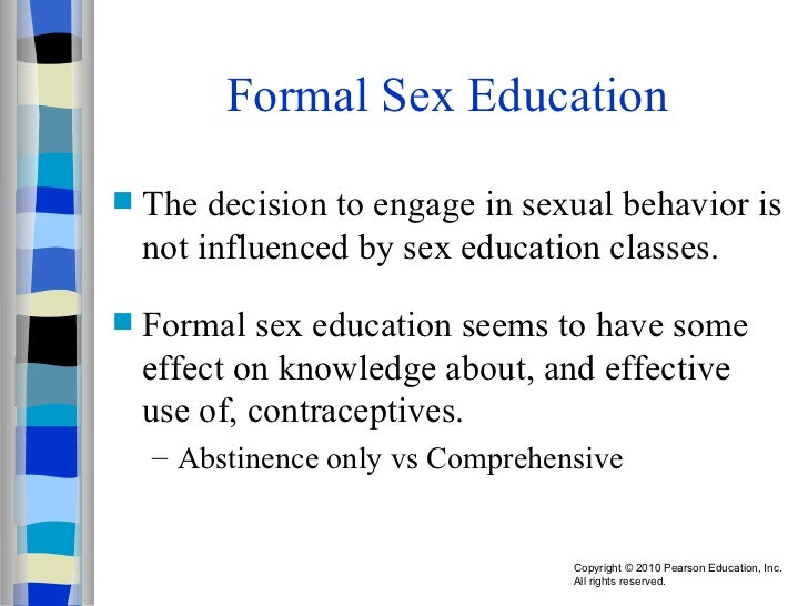 Adolescent Boys' Experiences of First Sex