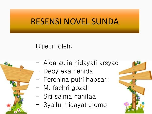 Contoh Resensi Novel Dalam Bahasa Sunda Kumpulan Contoh Makalah Doc Lengkap