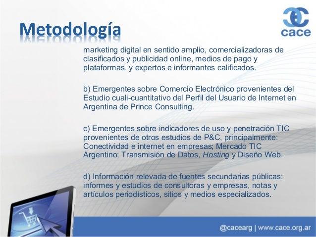 Presentación: Estudio anual de Comercio Electrónico 2013