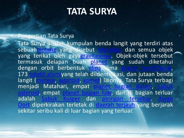 Power Point Jagat Raya Dan Tata Surya