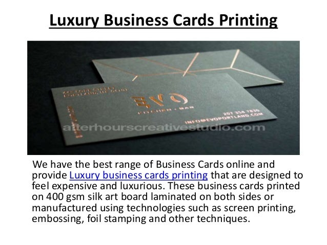 Luxury business cards luxury business cards reheart Gallery
