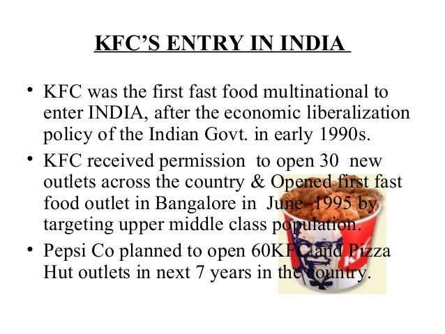 case study of kfc Finger lickin' good kfc key insights • a fresh business strategy, rigorously implemented through all aspects of marketing, transformed the kfc brand from sharp.