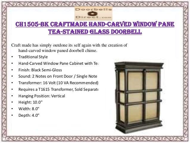 ... 8. CH1505 BK Craftmade ...