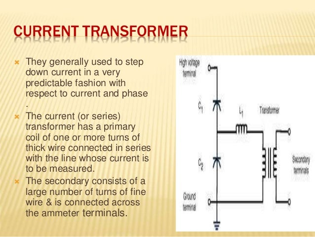 Instrument transformer ppt video online download.