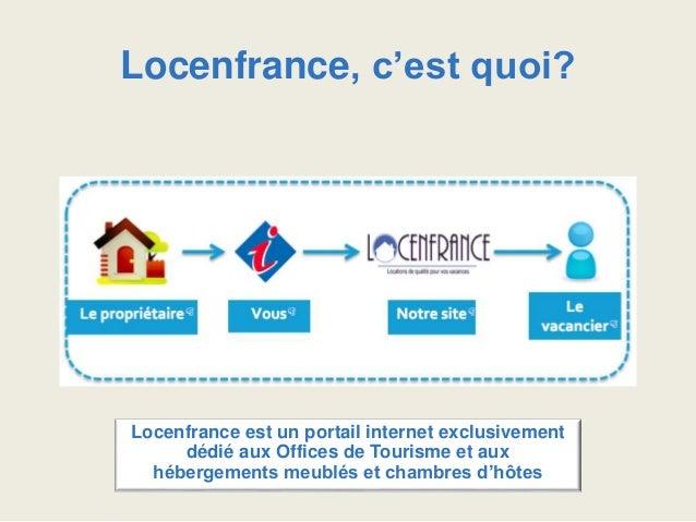 Locenfrance pour les Offices de Tourisme Slide 2