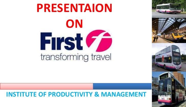 PRESENTAIONON<br />INSTITUTE OF PRODUCTIVITY & MANAGEMENT<br />