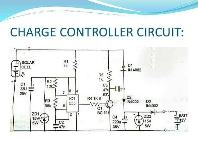 Wiring Diagram For Solar Led Street Light Wiring Circuit