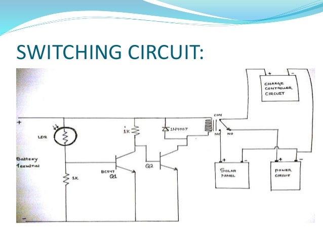 solar street light circuit pdf