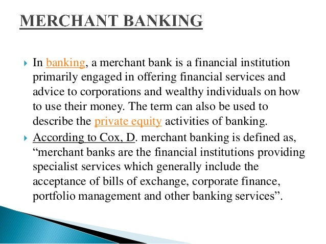 activities of merchant bank in bangladesh