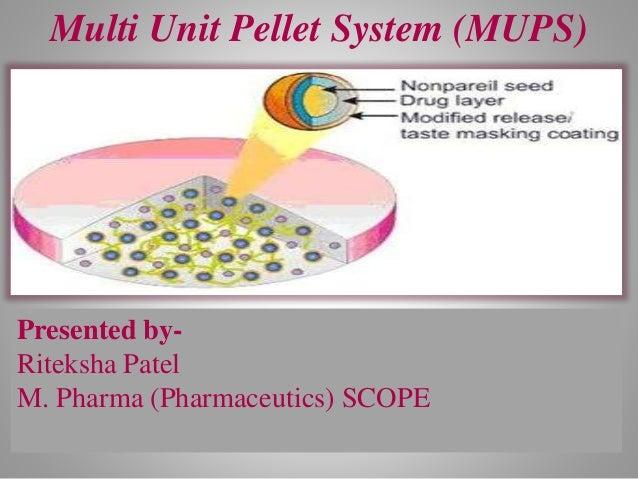 Multi Unit Pellet System (MUPS) Presented by- Riteksha Patel M. Pharma (Pharmaceutics) SCOPE