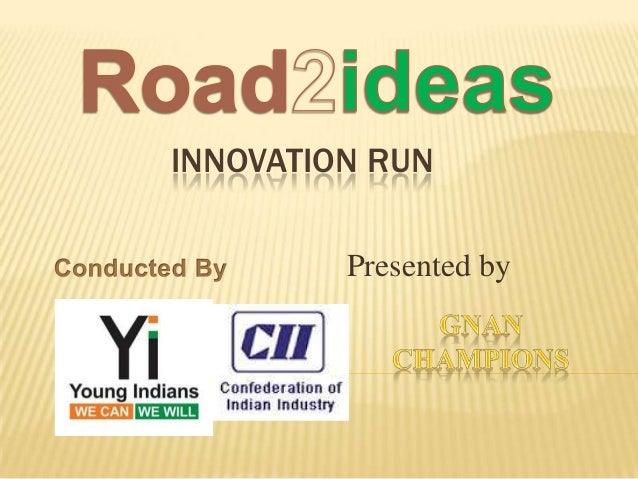 INNOVATION RUN Presented by