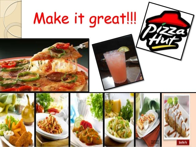 strategy of pizza hut Pizza hut aims at attaining the objectives of the pull strategy by using television and internet advertising these advertising forms are seen as very credible examples of mass media as they have the ability for mass penetration which in turn reduces the unit cost of the advertising.