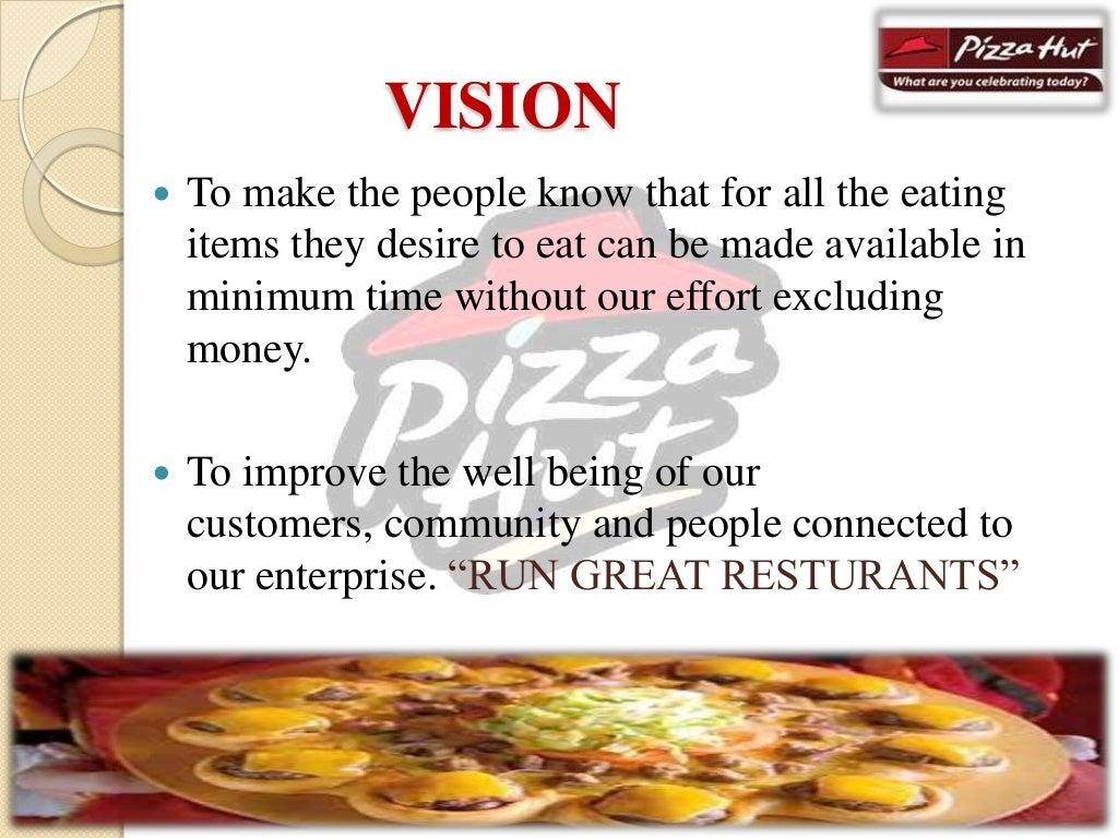 Market segmentation of pizza hut