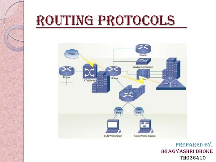 Routing protocols                   Prepared By,               Bhagyashri Dhoke                    TH036410