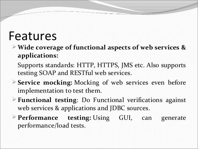 Ppt Of Soap Ui