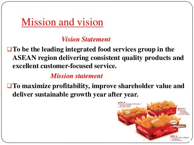 kfc quality management Kfc works hard to provide a positive impact on education, diversity, and animal welfare.