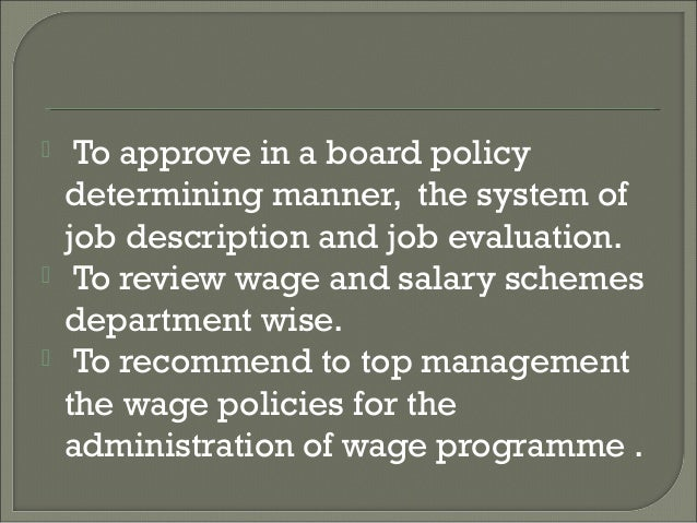 literature review on wage and salary administration Equal wage essay equal wage essay 1046  (report on salary surveys)  the following literature review gives a thorough account of the current research into the.