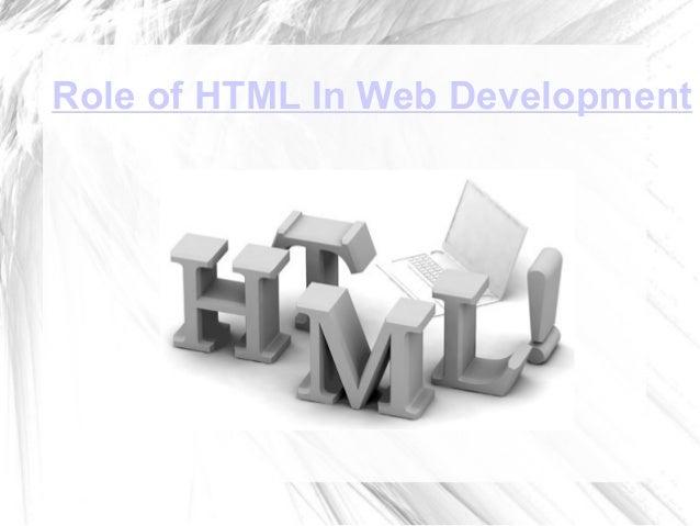 Role of HTML In Web Development