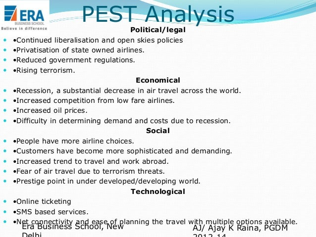 pest analysis of loreal company An effective way to analyse key features of the external environment is to use pestle analysis examples for each element of the pestle jim co-founded tutor2u.