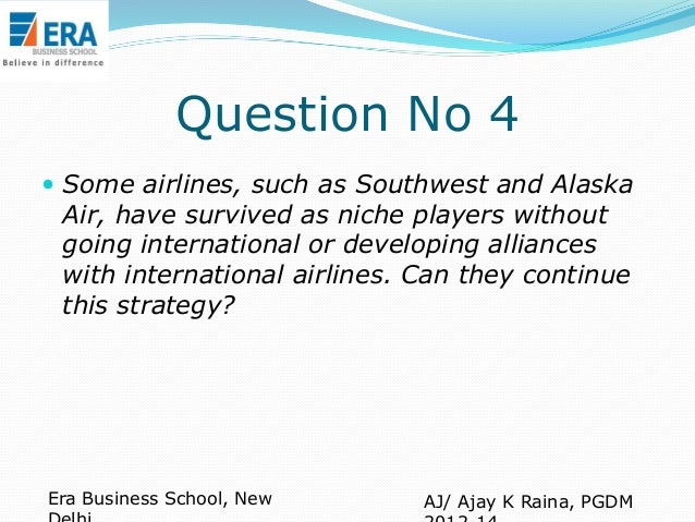 case study on getting airlines alliances off the ground