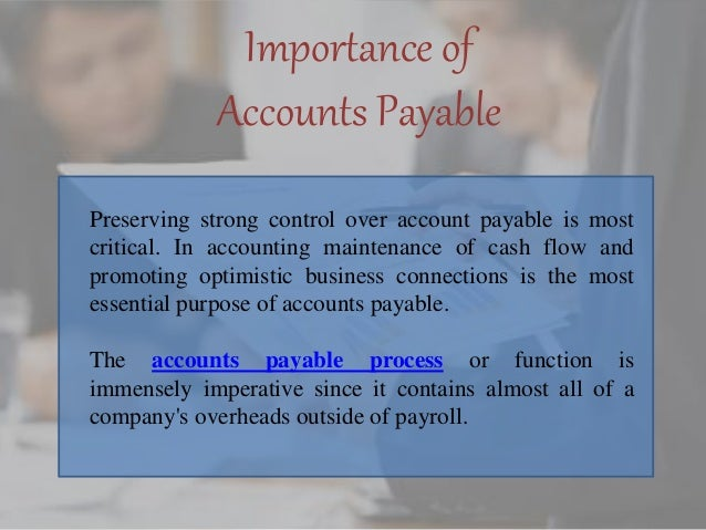 importance of accounts in business