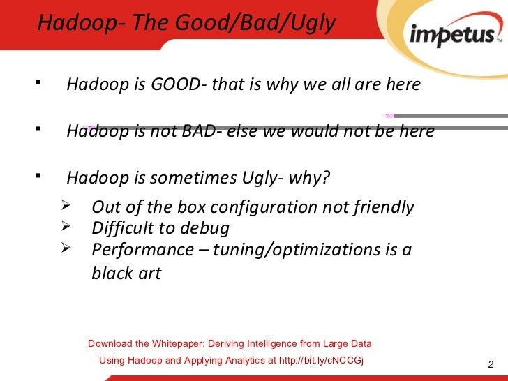 Advanced Hadoop Tuning and Optimization - Hadoop Consulting Slide 2