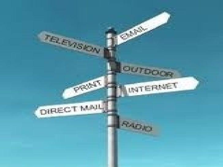 types of media in advertising pdf