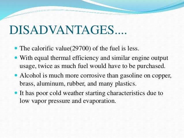 Disadvantages Of Ethanol As A Fuel Ethanol 2019 02 05
