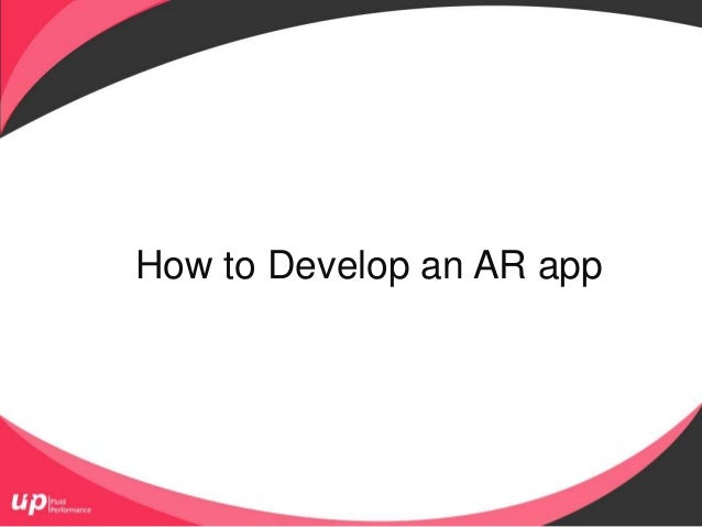 How to Develop an AR app