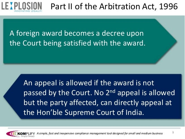 arbitration act 1996 drafting and award Arbitration act 1996 is up to date with all changes known to be in force on or  effect of award costs of the arbitration 59  of the arbitration act 1950.