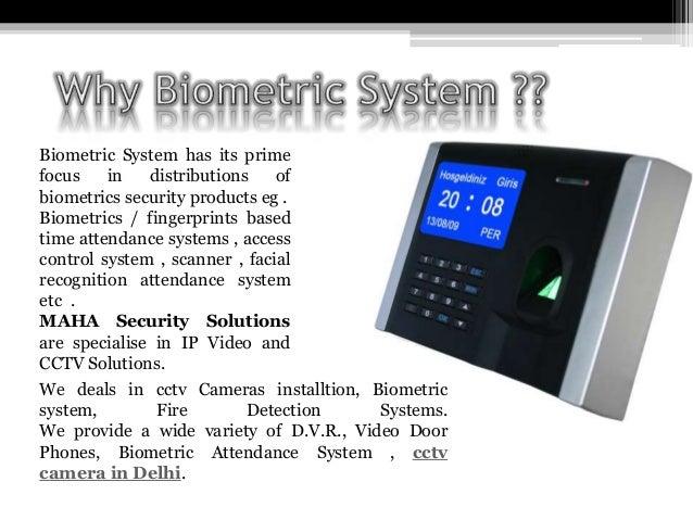 Ppt on biometric system