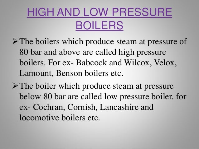 Ppt on boilers