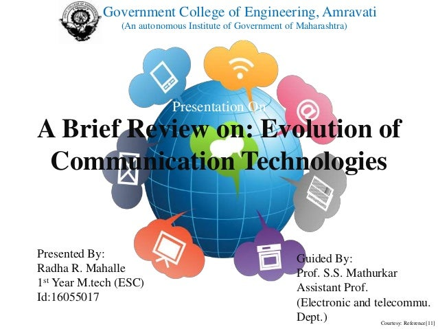 the evolution of communication Advantages and disadvantages of electronic communication technology in modern communication communication is needed for decision.