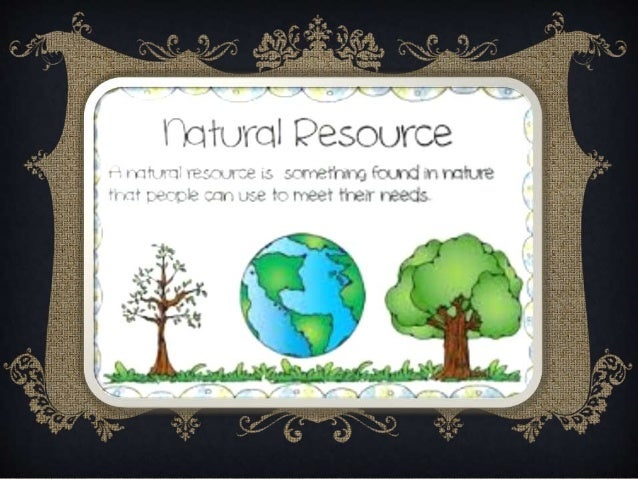 Natural Resources Conservation Ppt