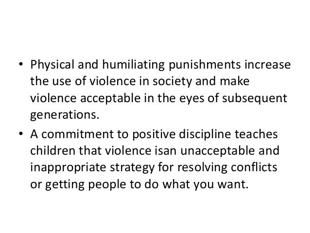 an argument against spanking as a way of punishing children Many parents use spanking as a method of punishment when children have misbehaved and nothing else seems to work however there is a significant difference between punishment and discipline punishment is defined as a verb meaning to inflict a penalty on.